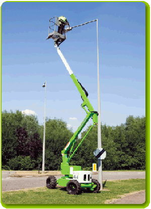 Where to find 34  SELF PROPELLED BUCKET LIFT in Johnson City