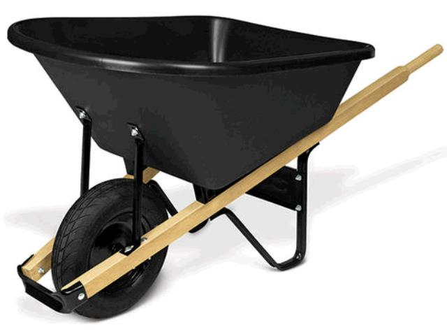 Where to find 6 CU. FT. CONTRACTOR S WHEELBARROW in Johnson City
