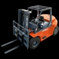 Rental store for 15,500 LB. WAREHOUSE FORKLIFT W 8  FORKS in Johnson City TN