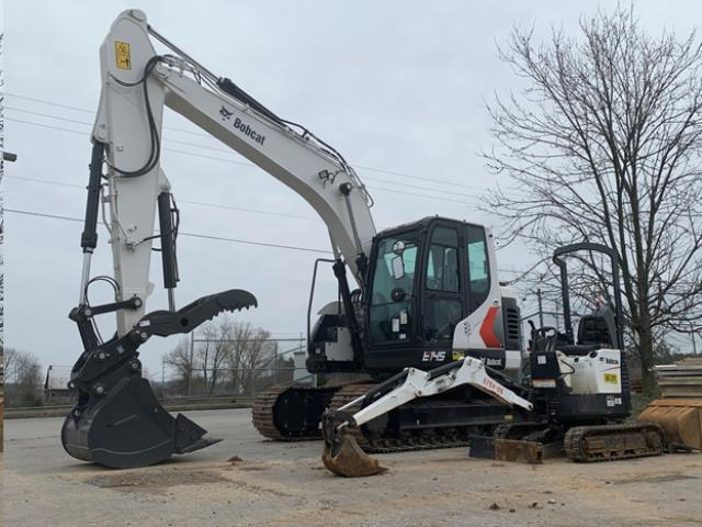 Where to find BOBCAT E145  DOOSAN 140 EXCAVATOR in Johnson City